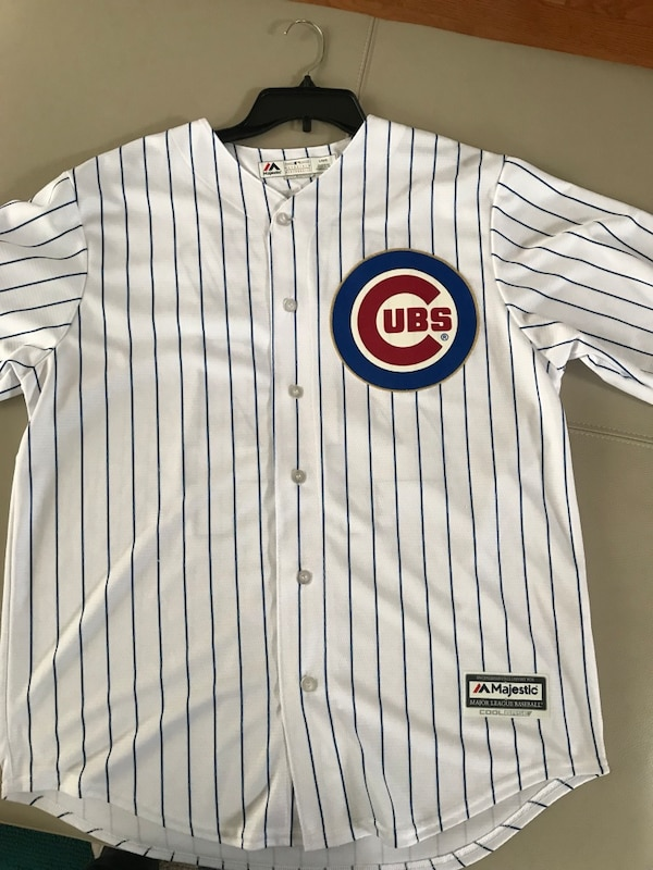 buy online 14cf4 40397 Anthony Rizzo World Series champs jersey