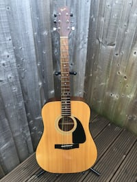 1980s VINTAGE FENDER GEMINI II ACOUSTIC GUITAR $150 FIRM NO CASE