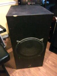 "800 Watts Sub 3' tall 22"" long and 18"" wide"