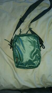 green and black leather crossbody bag Contra Costa County, 94583