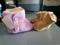 Uggs for baby girl purple are new tan are used siz Boonsboro, 21713