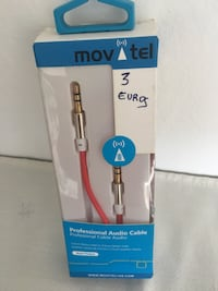 Movitel cable de audio profesional en paquete Calafell, 43882
