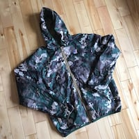 KWAY Reversible Windbreaker sz L Dartmouth, B2W 4L5