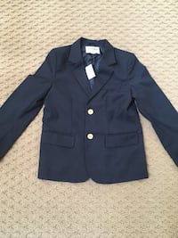 Brand new boys suit jacket size 8. Navy Potomac, 20854