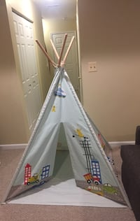Child multicolored teepee tent Bowie, 20715