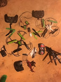 Remote helicopters and quads