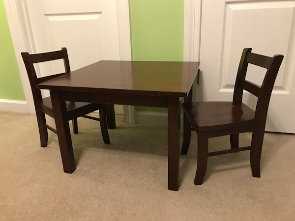 Cool Pottery Barn Kids My First Table And Chairs Spiritservingveterans Wood Chair Design Ideas Spiritservingveteransorg