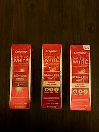 Colgate toothpaste with whitening Randallstown, 21133