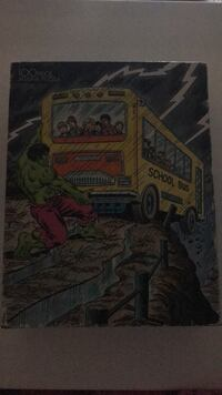 vintage hulk puzzle complete never opened great graphics collectors 100 piece Sugarcreek, 16323