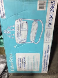 Fisher Price soothing motions bassinet  brand new with lights music and vibrations NEW in Box Hamilton, L8M 2B5