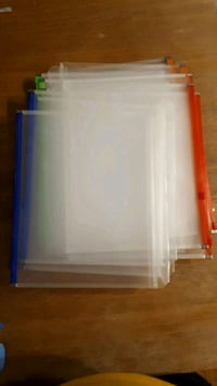 Zipper Binder Pocket and Clear Sheet Protectors