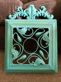 Turquoise Metal Wall Decor Cambridge, N3C 2V3