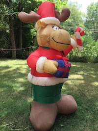 Inflatable blowup Christmas moose 8 ft tall Charlotte, 28227