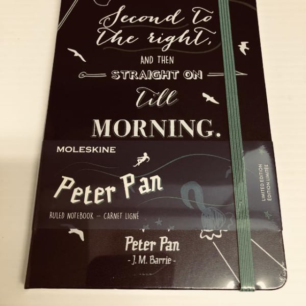Moleskine - Peter Pan Limited Edition Notebook - Pirates