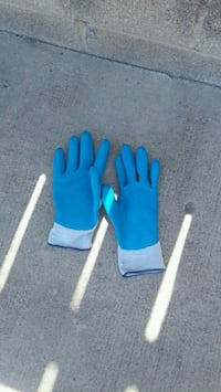 pair of blue-and-black gloves Los Angeles County, 90744