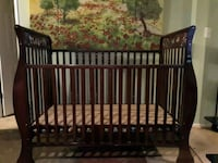 baby's brown wooden crib Gaithersburg, 20886