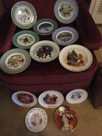 Avon Collector Holiday Plates