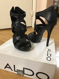 ALDOS - Black High Heels woman shoes - Size 9 Henderson, 89012