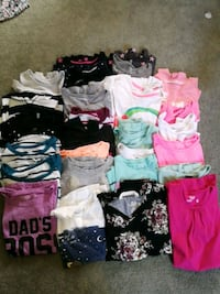 Girls size 7-8 shirts...all 30 for $20 Ajax, L1T 1P8