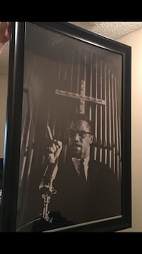 Malcolm X Framed Picture 24x36 Los Angeles, 90004