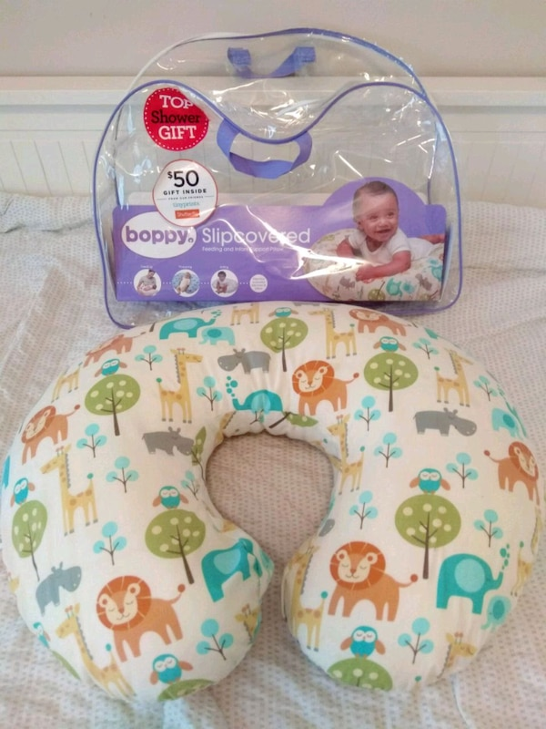 Boppy Nursing Pillow and Position