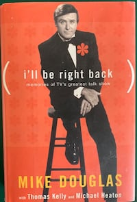 Mike Douglas I'll Be Right Back Hardback Lebanon