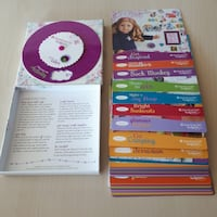 American Girl Activity Color Card Set Game