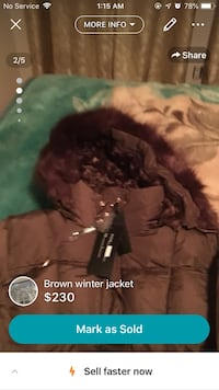 Winter jacket brand new large size Markham, L3S 3Y9