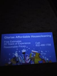 House cleaning Phoenix, 85040