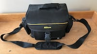 black Nikon camera bag Peachland, V0H 1X5