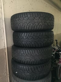 Winter tyre set (205/65/15) must go in 4 days Mont-Royal, H3P