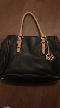 black Michael Kors leather tote bag Concord, 94520