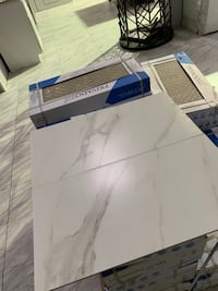 12x24 White Calacatta Porcelain Tile Matte In Stock $1.99 per sqft!!  Fairfax, 22031
