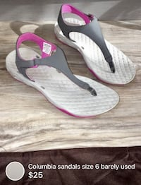 Columbia sandals size 6 barely used  London, N5W 1E8