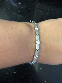 Sterling silver bracelet with stones Toronto, M2R 3N1