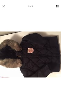 Juicy couture puffer jacket size 2 fall and spring Laval, H7W 3R7
