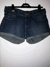 blå denim korte shorts Lier, 3400