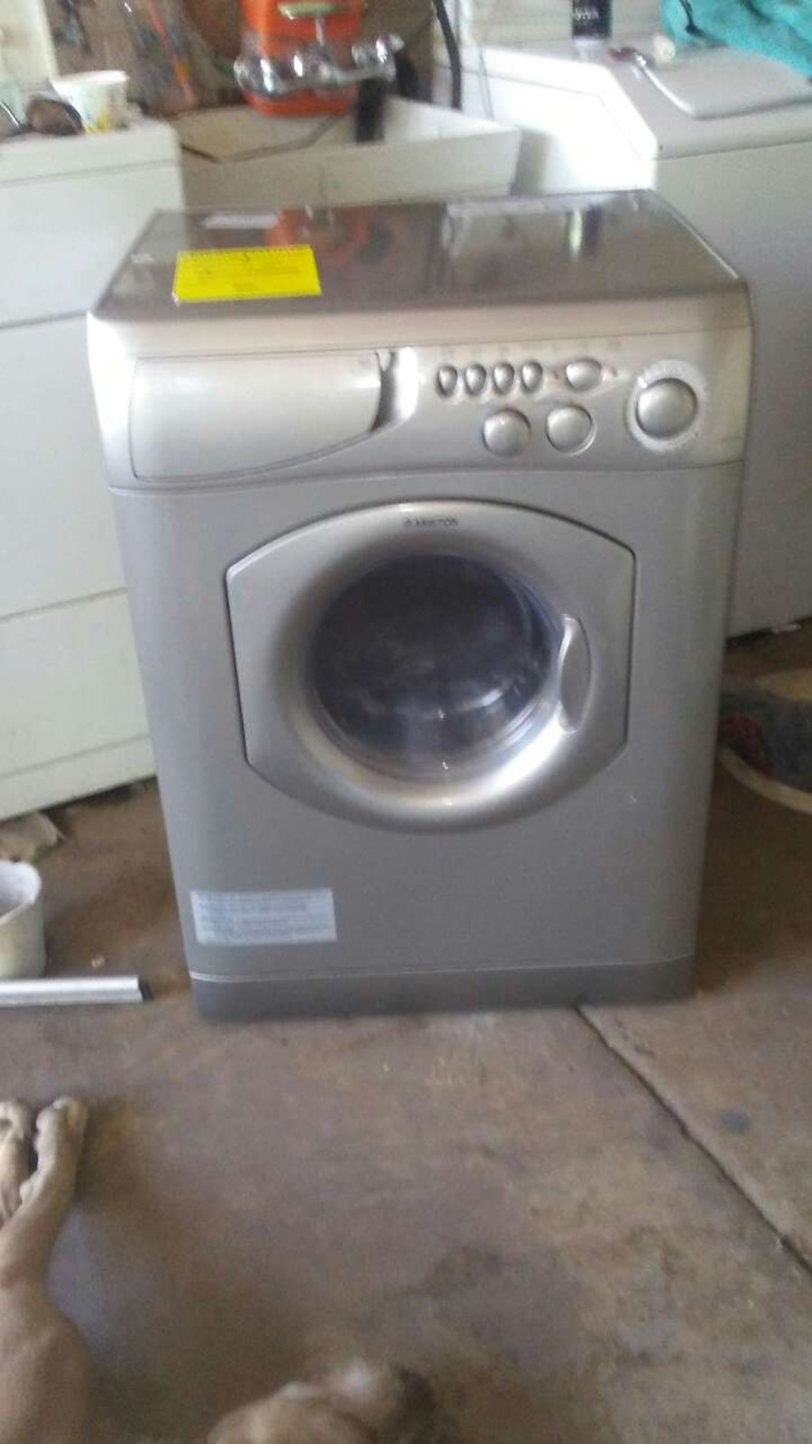 ariston washer dryer combo instructions