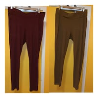 SUZY SHIER STRETCHY PANTS STYLE LEGGINGS
