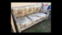 Patio furniture: Bamboo Couch