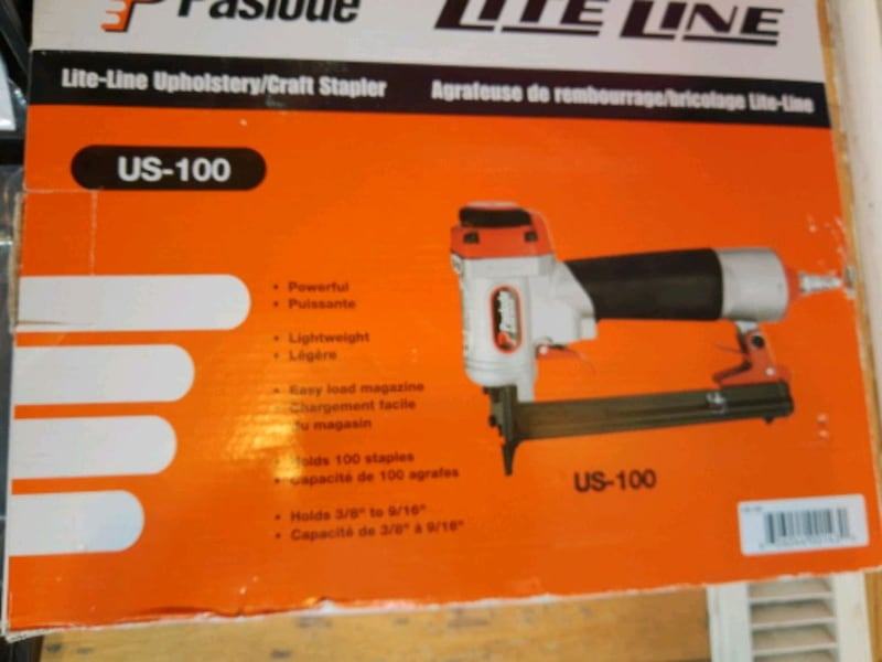 Paslode air stapler 3/8_9/16 5