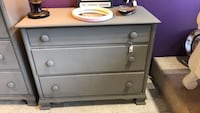 Freshly painted solid wood dresser Frederick, 21701