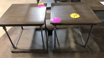 brand new in the box end tables