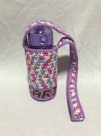 Handmade Crochet Personalised Water Bottle Holder  Singapore