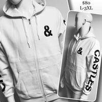 XL MENS white zip up by Crooks & Castles  Winnipeg, R3M 1K5
