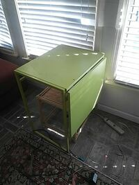 green wooden drop-leaf table Houston, 77096
