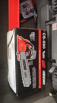 Chainsaw powered bye gas $400 in stores $300 from me  Warren, 48092