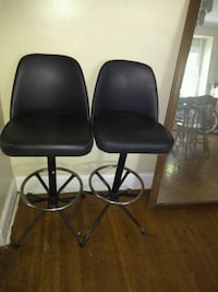 Two leather bar stools! Indianapolis, 46205