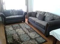 2pc.sofa set,accent chairs,carpet,coffee tables  Mississauga, L5W 1J7