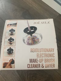 Electronic Makeup brush cleaner  Toronto, M5V 1P9